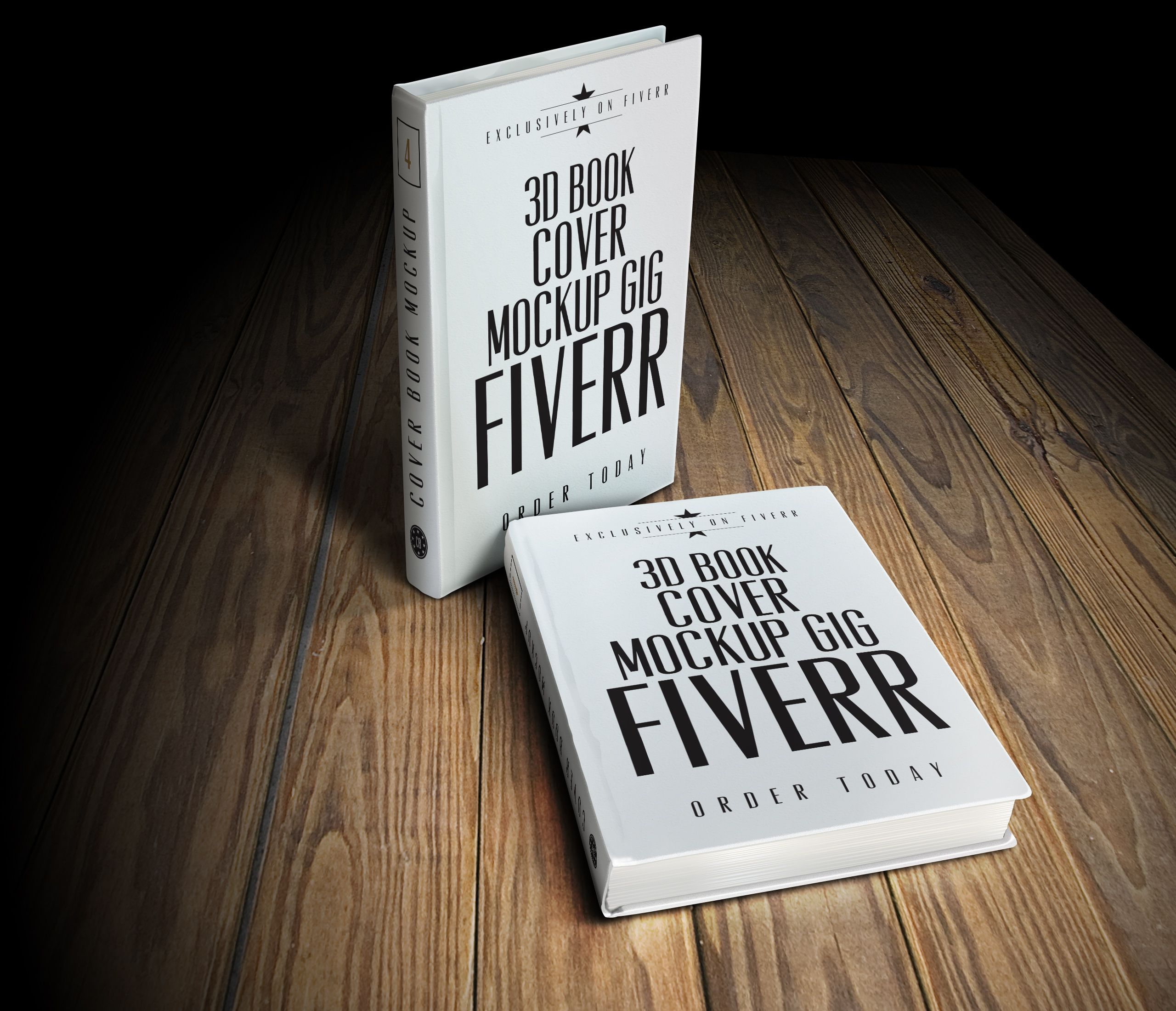 I will convert your 2d cover into an AMAZING 3d book mockup | Nice ...