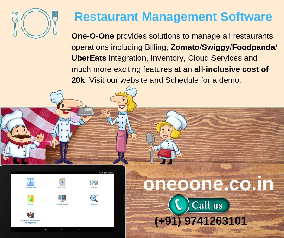 One-O-One provides solutions to manage all restaurants