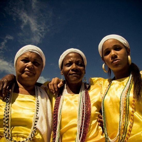Filhas d' Oxum. Salvador da Bahia