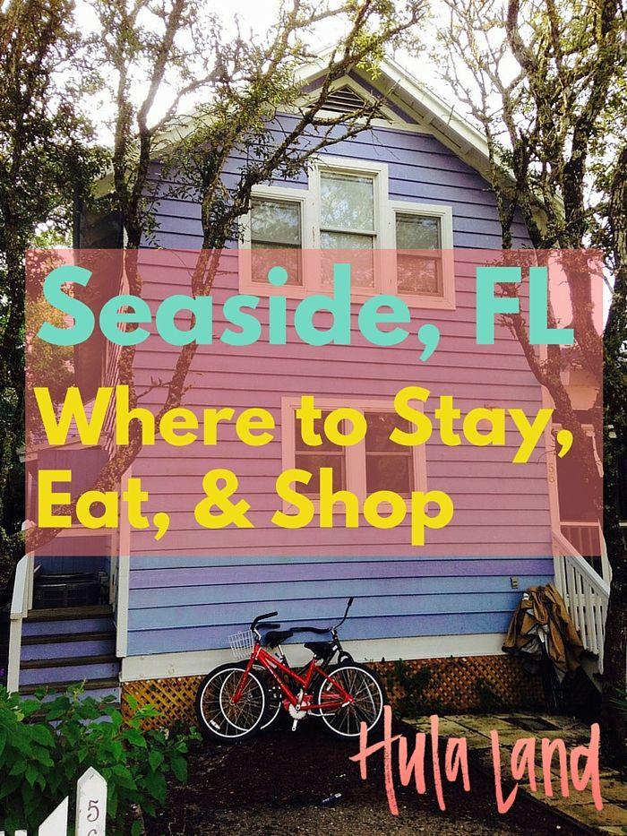 Seaside Beach Restaurants Florida