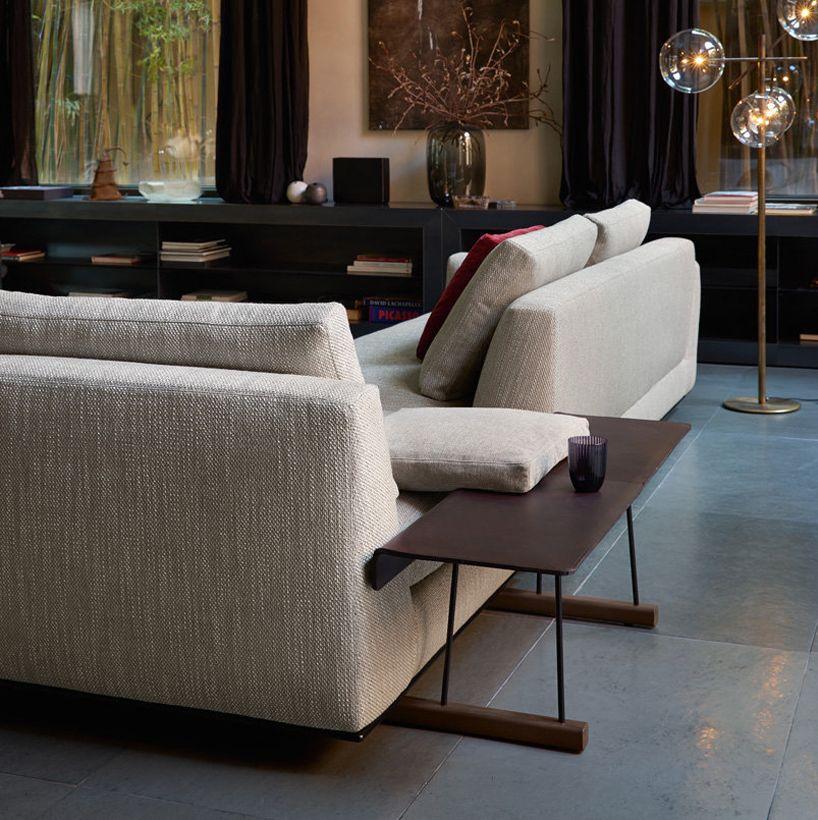 walter knoll presents tama living sofa & oki table at imm cologne ...