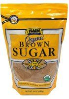 Hain Pure Foods Organic Brown Sugar -- 24 oz - http://goodvibeorganics.com/hain-pure-foods-organic-brown-sugar-24-oz/