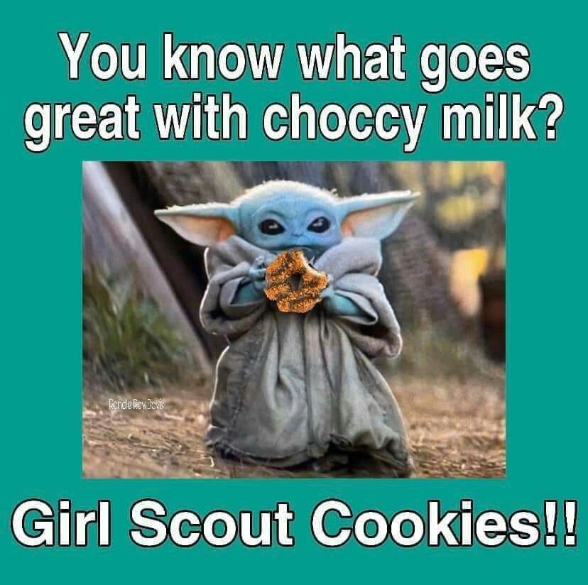 Pin By Desiree Franklin On Yummy In My Tummy Star Wars Baby Haha Funny Girl Scouts