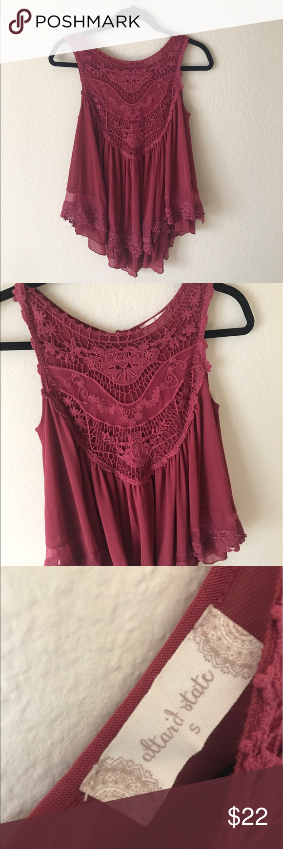 Mauve pink blouse this is from altrd state and is really cute and i