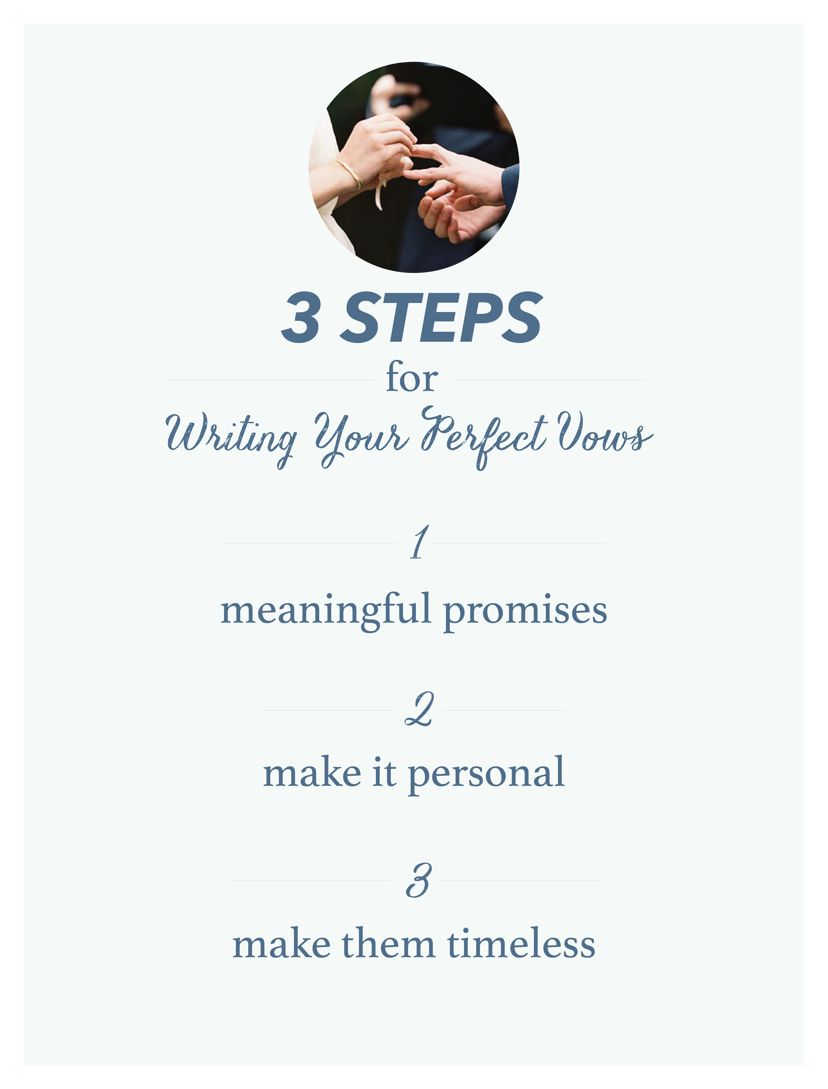 A Guide To Writing Your Perfect Wedding Vows