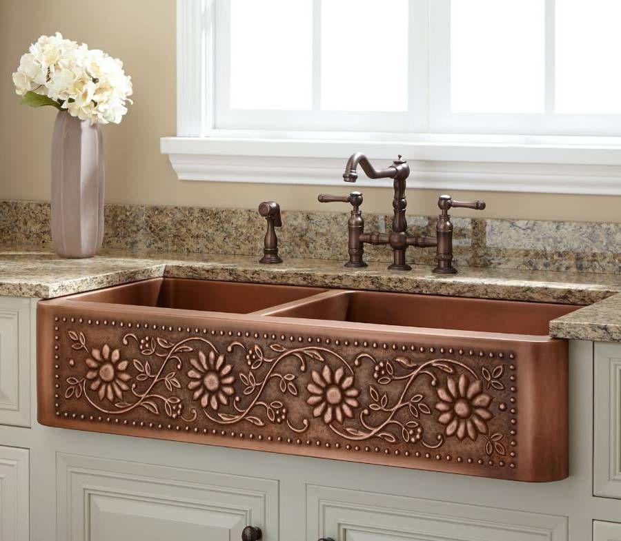 Cast-Iron Kitchen Sink Bisque | Sink Ideas | Pinterest | Cast iron ...