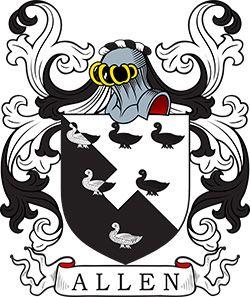 Allen Coat of Arms