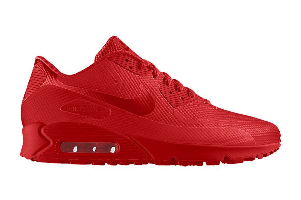Red air max, Red nike shoes