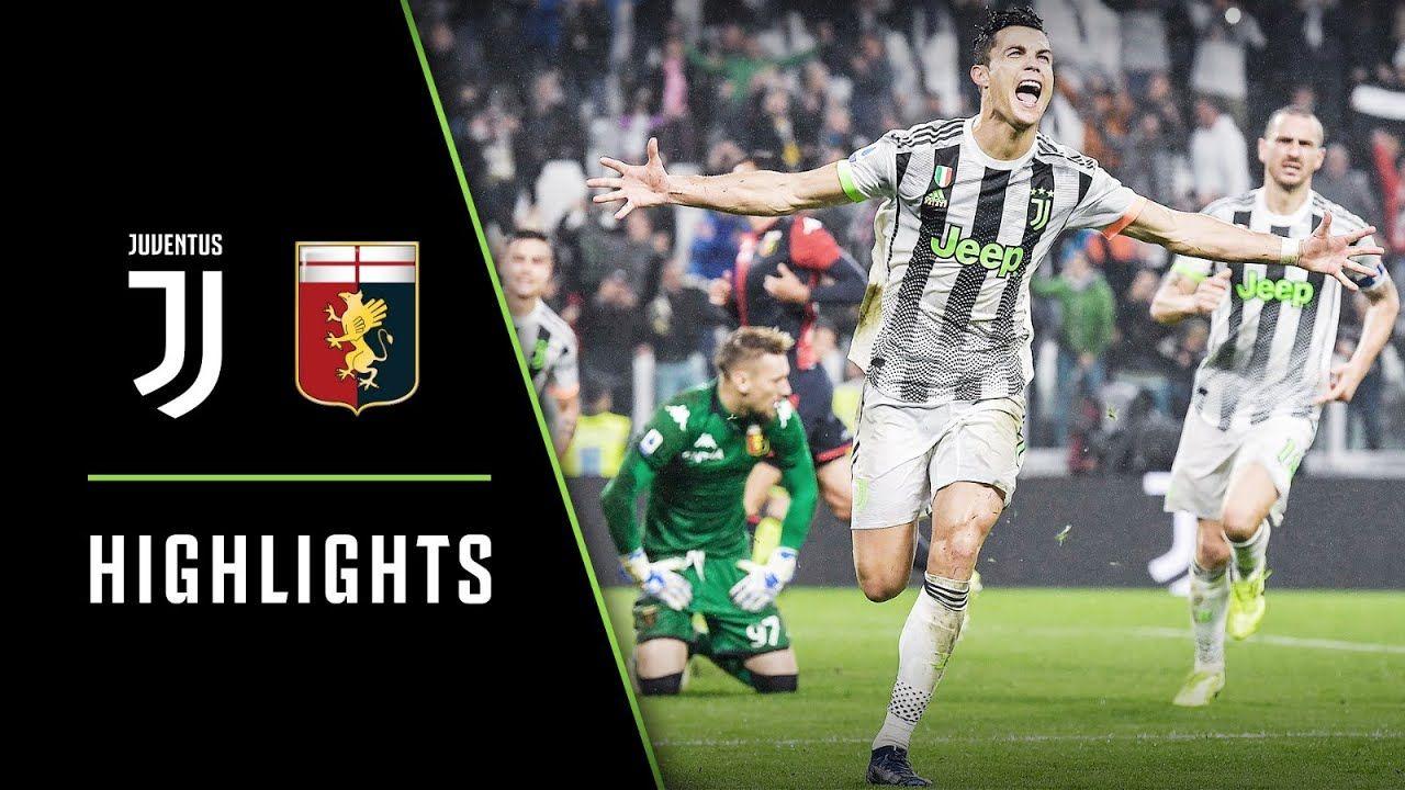 HIGHLIGHTS: Juventus vs Genoa - 2-1 - Ronaldo's last ...