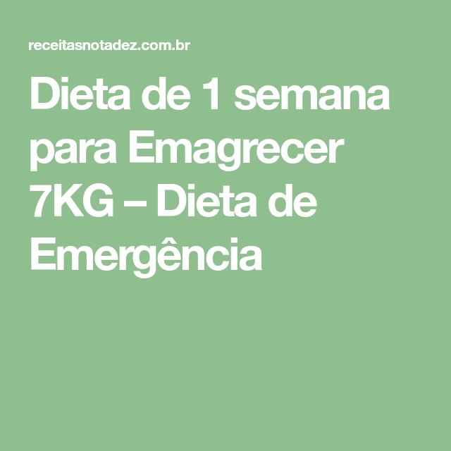Dieta extrema para emagrecer