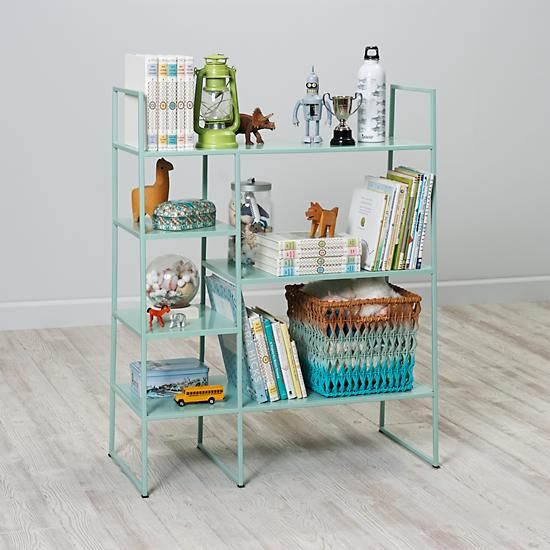 Metalwork Bookcase Mint The Land Of Nod Need To Find An Alternative In Amsterdam Furniture Decor Home Decor