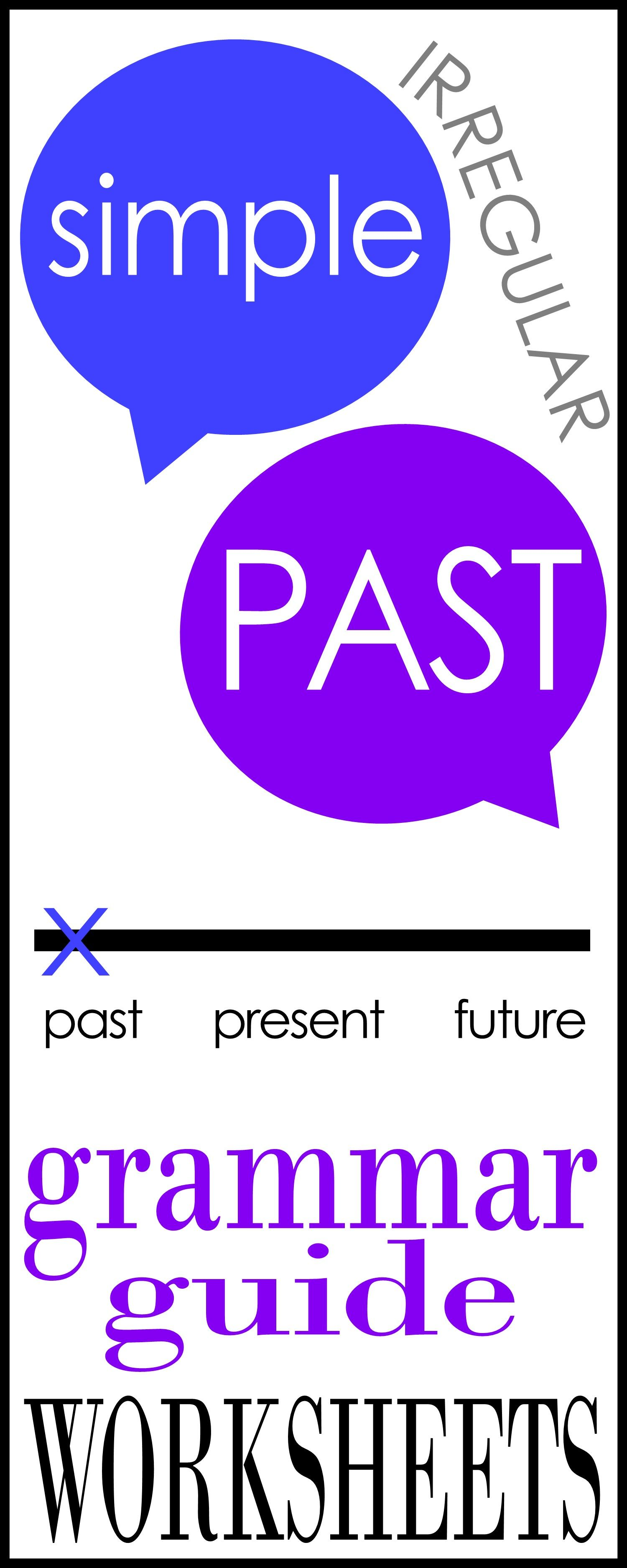 Simple Past Irregular Verbs Grammar Guide With