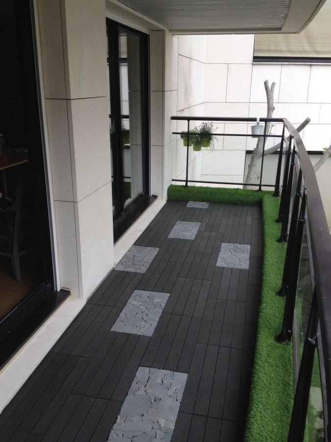 balcon comment associer et harmoniser le min ral dalles. Black Bedroom Furniture Sets. Home Design Ideas