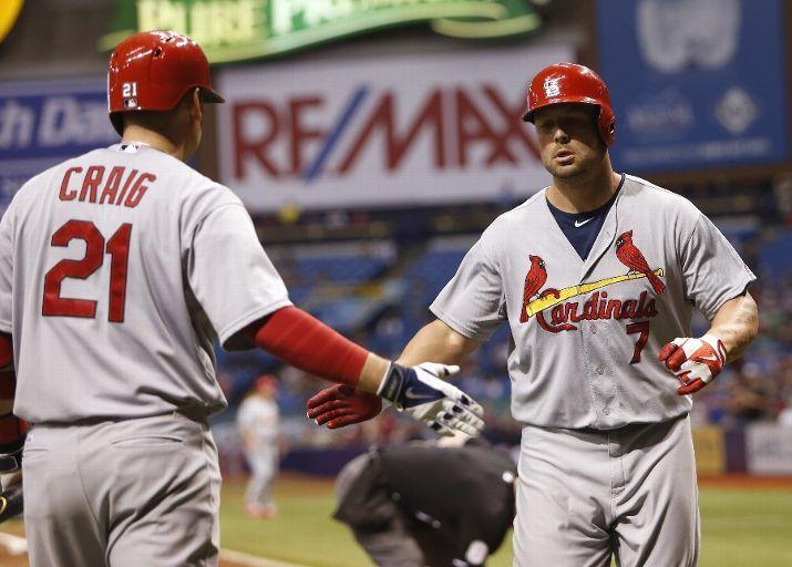 Matt Holliday Powers Cardinals Over Rays Arch City Sports Cardinals Team St Louis Cardinals Cardinals