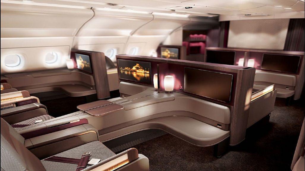 Qatar Airways Airbus A380 800 First Class Qatar Airways Best