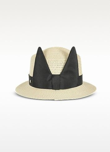 52b174b8d9380 Shop for Natural Small Brim Hat by Karl Lagerfeld at ShopStyle. Now for  95.