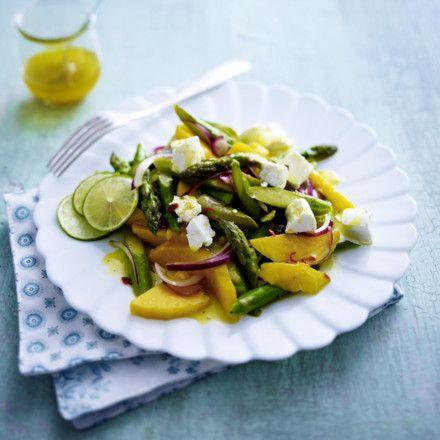 Spargel salat paleo