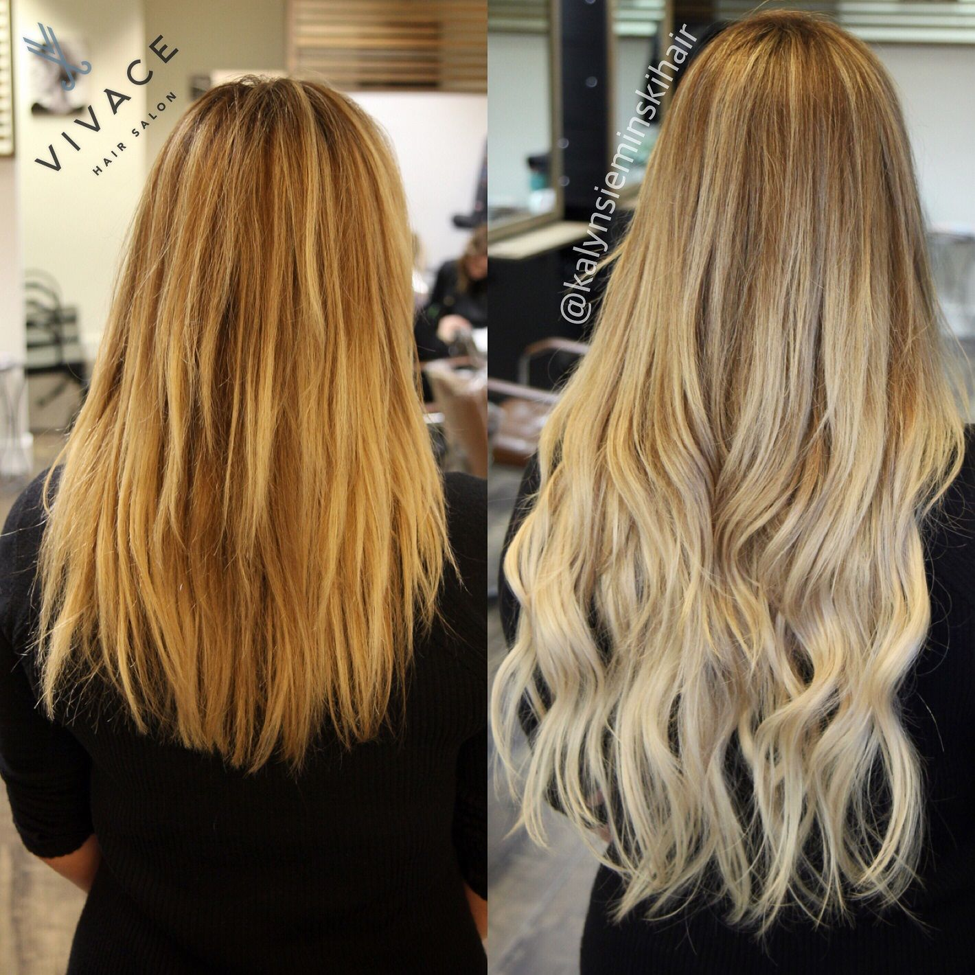 Hair extensions installation by kalyn sieminski length volume hair extensions installation by kalyn sieminski length volume seamless blend pmusecretfo Choice Image