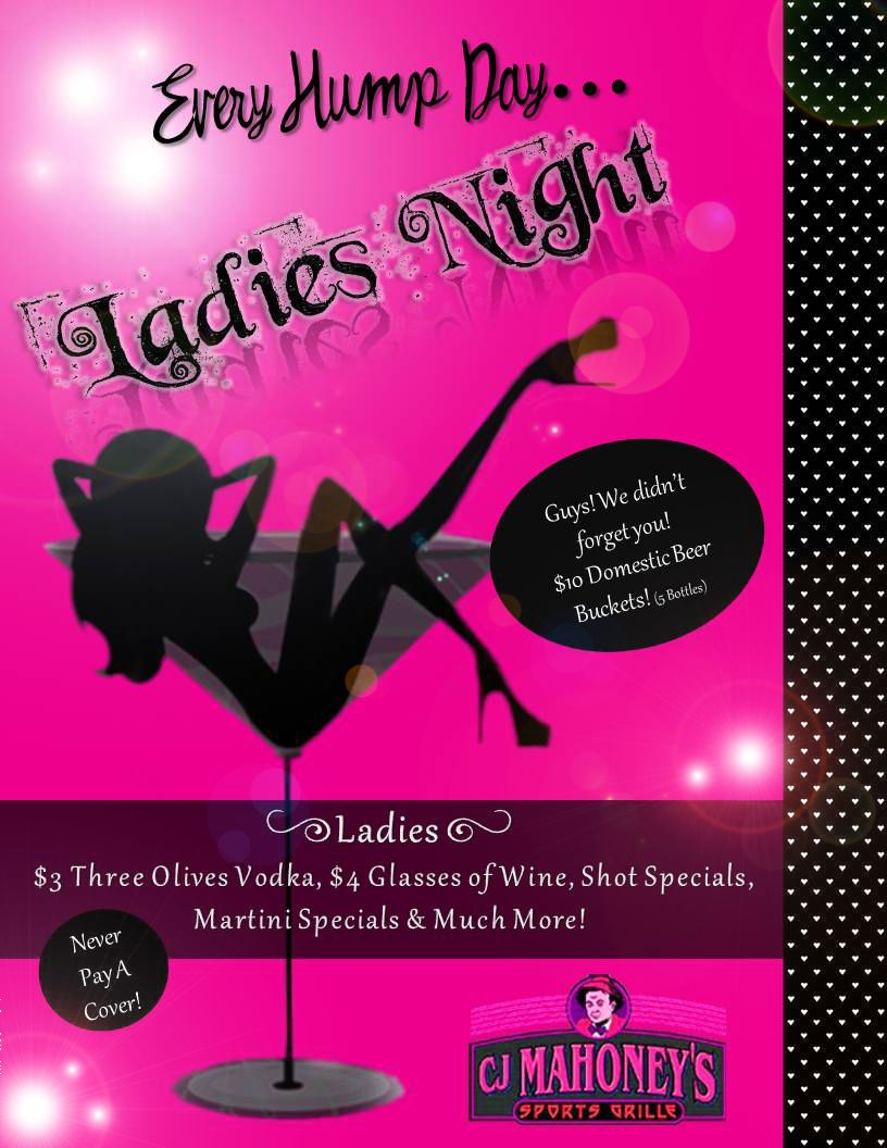 Ladies Night Promotion Created By Kelly Barbier Using Adobe Photoshop Guys Night Beer Bucket Ladies Night
