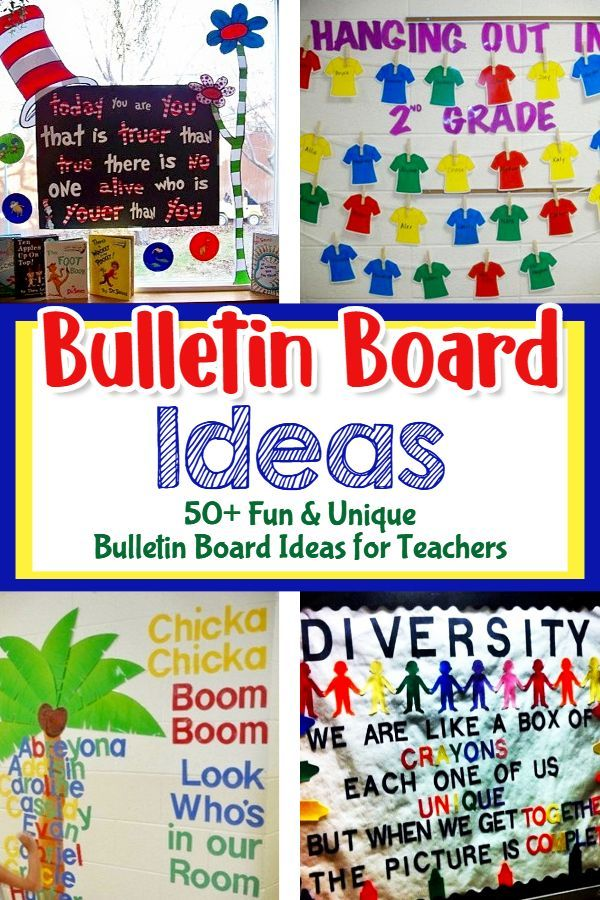 Unique Bulletin Board Ideas For Teachers *NEW* For March