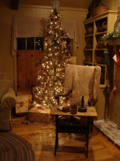 Country decor christmas online