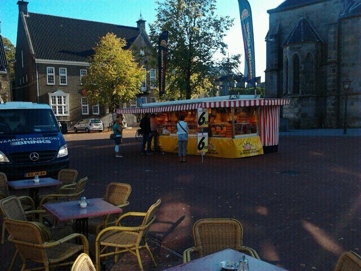 Marktplein in Haaksbergen, Overijssel