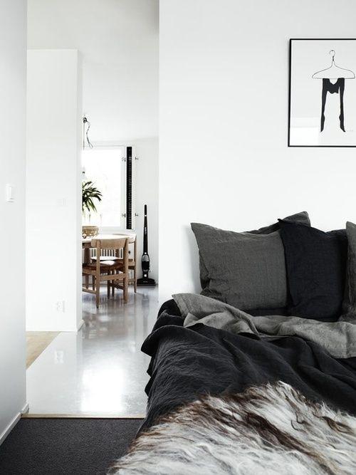 Via Classy Suit Black White Grey Bedroom Nordic ∞ teen