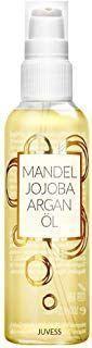 Photo of JUVESS almond oil jojoba oil and argan oil vegan moisturizing …