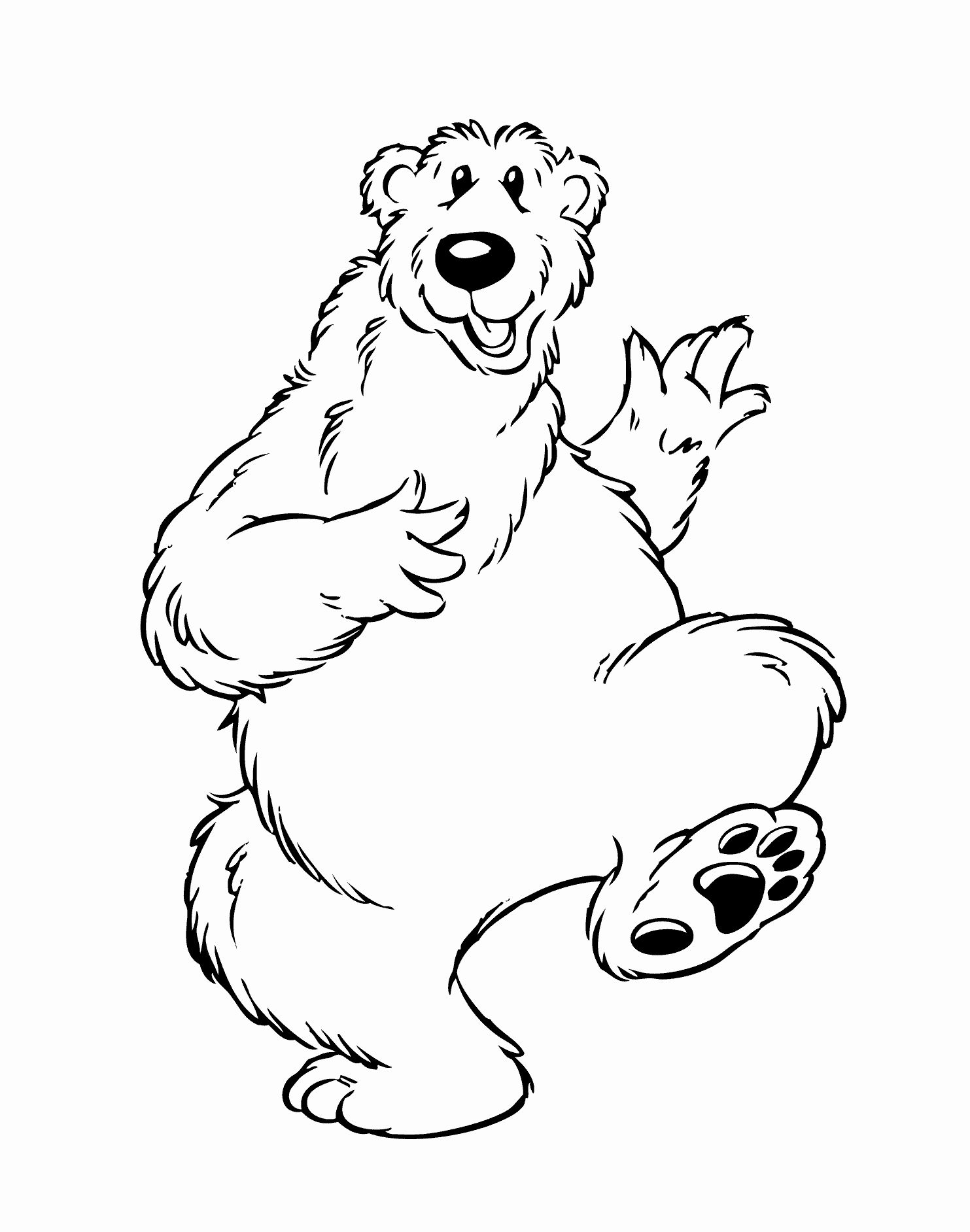 Coloring Pic Of Animals Inspirational Introduce Kids Wild Animals Using Animals Coloring Bear Coloring Pages Animal Coloring Pages House Colouring Pages