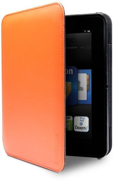 only fits Kindle Fire HD 7 Orange Marware MicroShell Folio Lightweight Standing Case for Kindle Fire HD 7