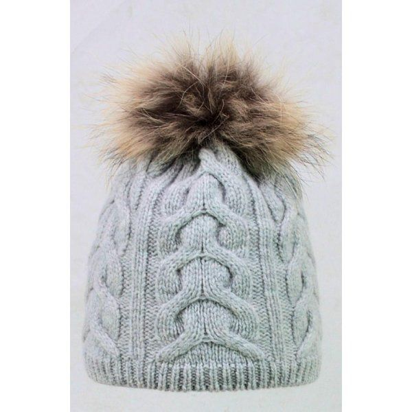 8e35649dd3b Steffner Steffner Cindy Womens Ski Hat In Light Grey - Steffner from White  Stone UK