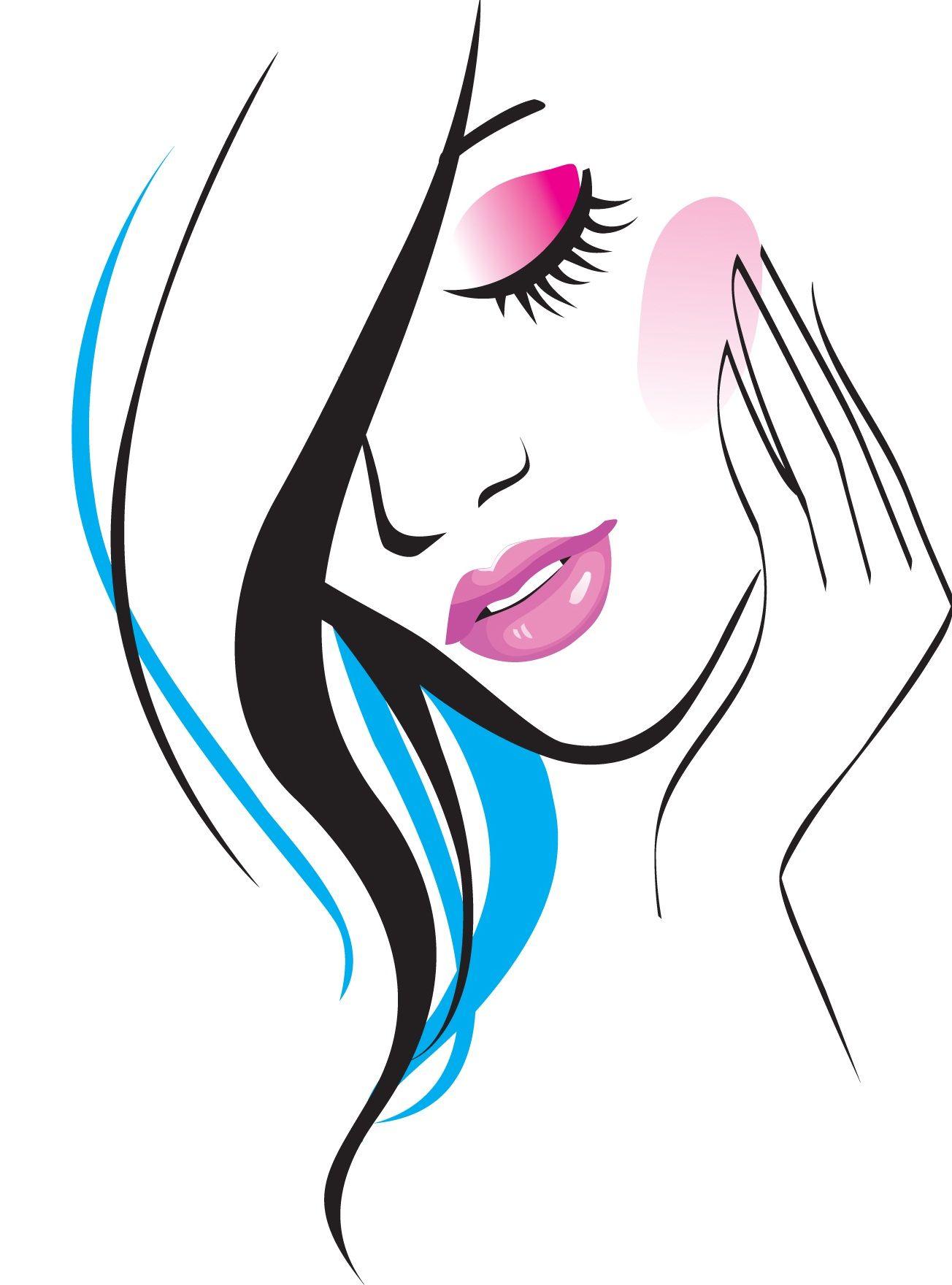 Pics For > Beauty Parlor Logo Desenhos para barbearia