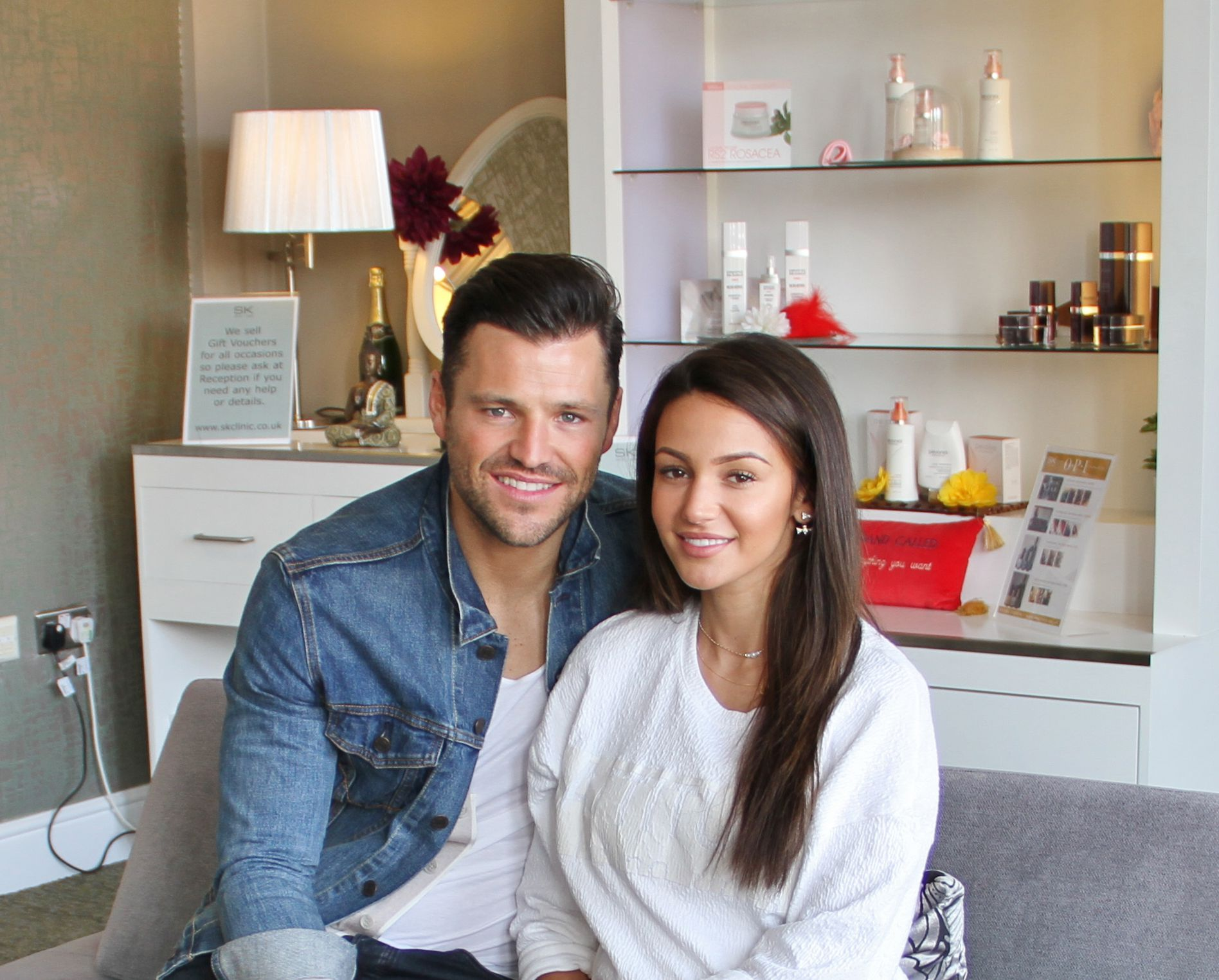 Michelle Keegan Mark Wright Who Enjoyed Some Well Needed Pre Wedding Pampering In May