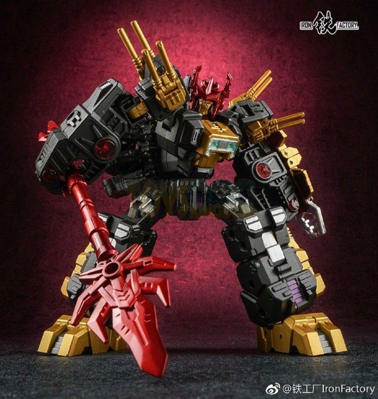 Iron Factory If Ex18d Lord Scorpion Dark Versionin Stock
