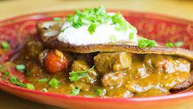 In Ania's Kitchen: Placek po Wegiersku - Hungarian Style Potato Pancake - Recipe #112