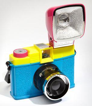 Lomography Diana F+ CMYK Camera Kit