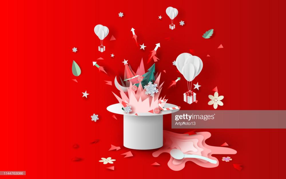 Photo of Ilustración de arte de hogueras y fuegos artificiales art decoraciones en …