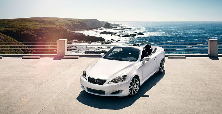 Lexus IS350C IS Convertible Shown In Starfire Pearl With