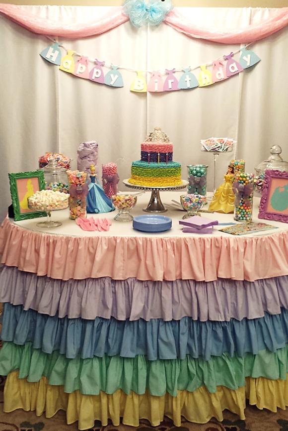 A Princess Tea Party Children S Birthday Party Princess Tea