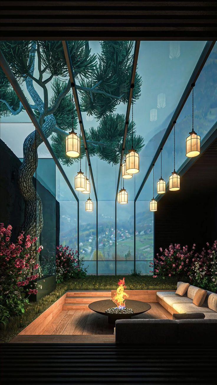 Lost in Nature: Terrace Garden Ideas by Amin Moazzen