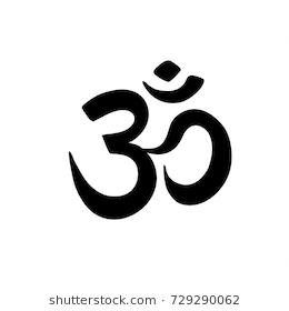 Aum Om Ohm Symbol Black Color On White Background Vector Illustration Indian Culture India Spirital Yoga Om Icon Ohm Symbol Symbols Instagram Highlight Icons