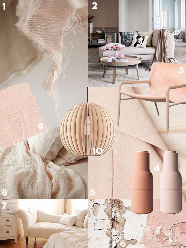 Interieurtrend: Nude - Residence De basis van een nude interieur ...