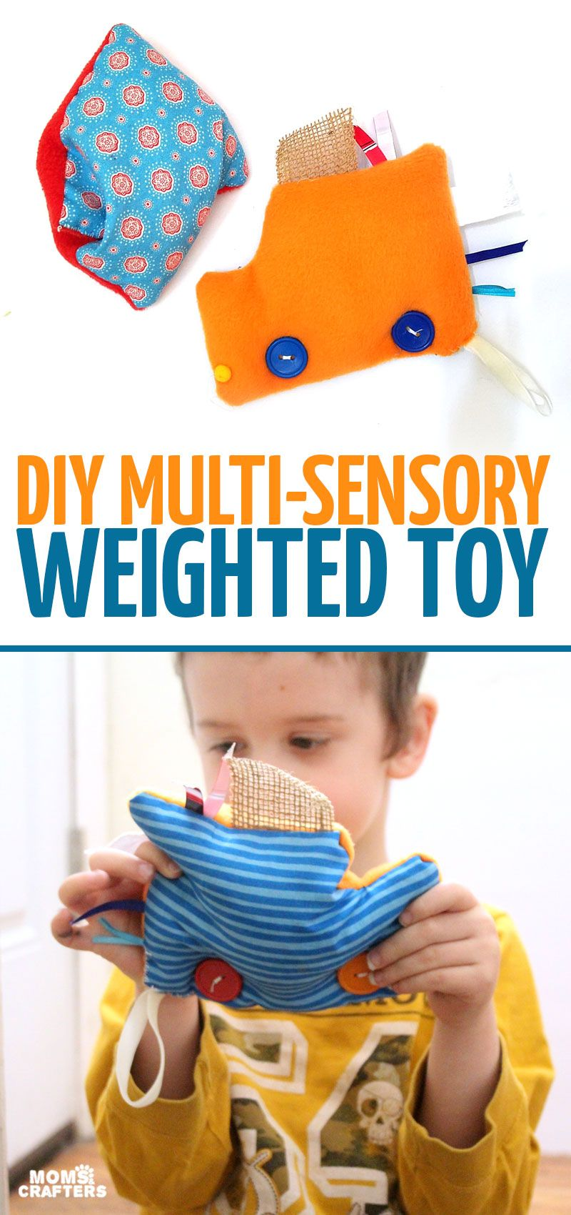 Make this easy multisensory toy!
