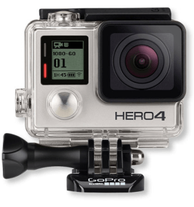 GoPro HERO4 SILVER Action Cam Bundle for $329.99, $280.49 for Students