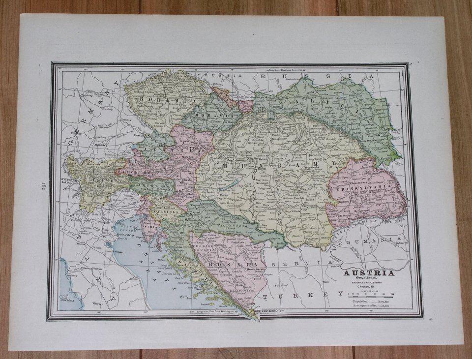 1890 ANTIQUE MAP OF AUSTRIA HUNGARY POLAND GALICIA UKRAINE ... on pale of settlement, second polish republic, ukrainian greek catholic church, fighting ukraine map, kingdom of galicia and lodomeria, hungarian plain on world map, ukraine regions map, russia ukraine map, jews in kremenets ukraine map, western ukraine map, donbass ukraine map, east ukraine map, rebel ukraine map, duchy of warsaw, zhytomyr ukraine map, carpathian ruthenia, slavuta ukraine map, yalta ukraine map, georgia ukraine map, yavoriv ukraine map, carpathian mountains, poland ukraine map, 2014 ukraine map, capital of ukraine map, turkey ukraine map, ato ukraine map, bessarabia ukraine map,