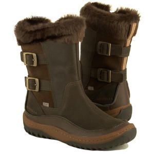 a1fb4cc5 Women's Merrell *Decora Chant Waterproof* leather Winter Boots Side ...