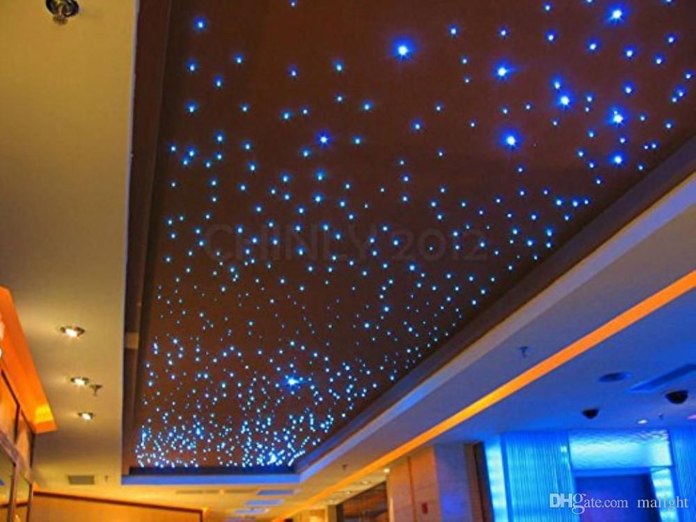 2019 32w Rgb Twinkle Led Fiber Optic Star Ceiling Lights Kit Sky Light 5m Optic Star Ceiling Lights Kit Sky Lig Sky Ceiling Star Ceiling Star Lights On Ceiling