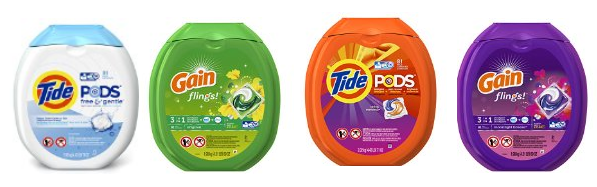 Eight New 5 1 Tide Pods Or Gain Flings Amazon Coupons Tide Pods Amazon Coupons Coupons
