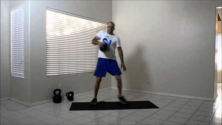 Kettlebell Lateral Lunge Clean Press. Visit http