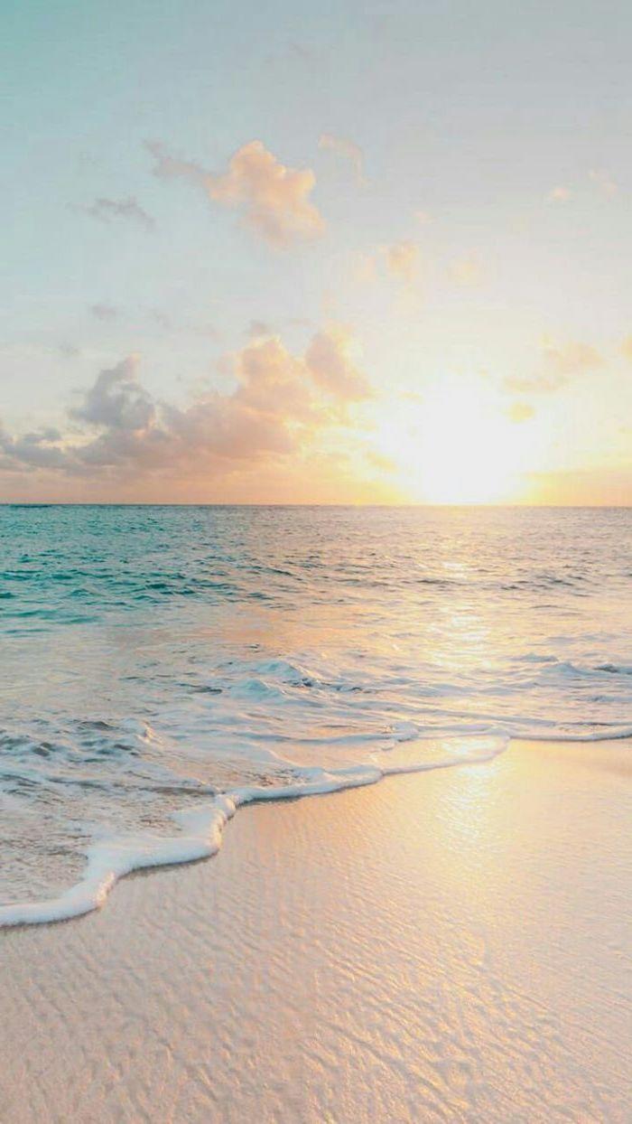 Sunset Sky Ocean Waves Summer Wallpaper Beach Sand Beach Pictures Wallpaper Beach Wallpaper Beach Pictures